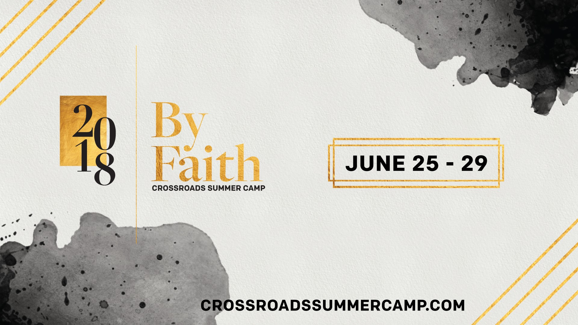 By Faith: Crossroads HS Summer Camp